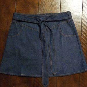 Boutique After Market Denim Skirt